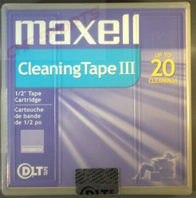 Maxell Cleaning Tape III Cleaning Cartridge