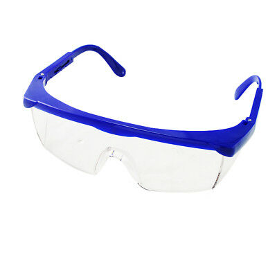 Clinic Dental Protective Eye Goggles Safety Glasses Blue Frame for Dentists Lab