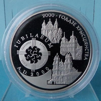 Belarus 1 Ruble 2009 2000th Anniversary of Christianity  2000 Jahre Christentum