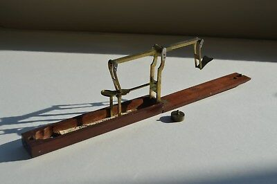 Antique Mahogany Cased SovereignBalancing Scales By H Bell & Co (Prescott)