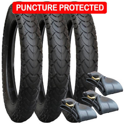 Tyre and Inner Tube Set for Phil & Teds Classic - Puncture Protected