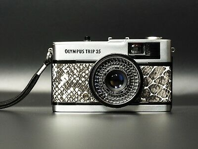Olympus Trip 35 mm Compact Film Camera - Excellent, working, new seals.