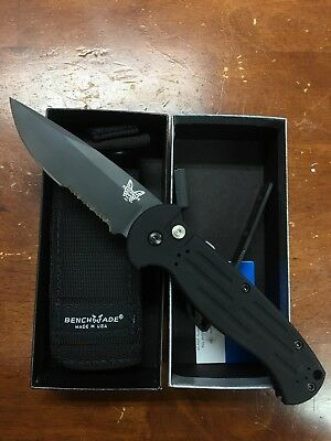 Benchmade 9051SBK AFO II Tactical Knife, new complete with box and sheath