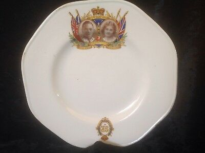 Antique Melbar Plate 12th May, 1937 King George Coronation Plate