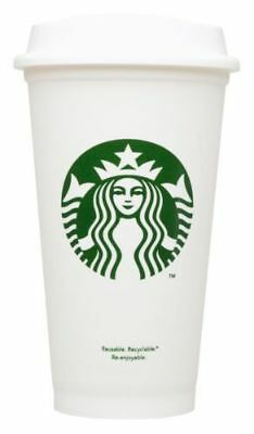 Starbucks Reusable Coffee Cup ( Grande 16 oz.) 3 Desings