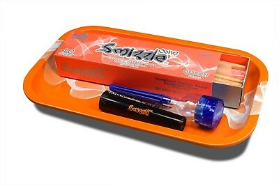 SMIZZLE SUPER STARTER PACK: 40 pcs Pre-Rolled 98mm Cones + Tray + Tube + Grinder