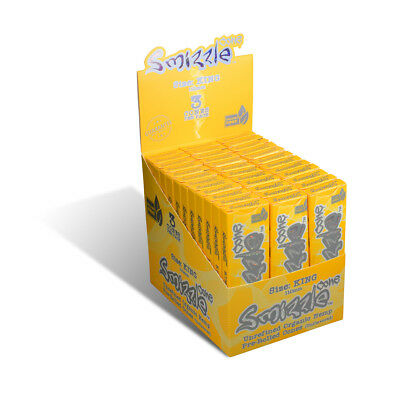 SMIZZLE 108 pcs Pre-Rolled Cones, KING (110mm), 36 Packs/3-pack in Display Box