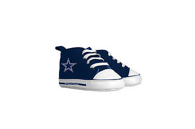 Dallas Cowboys Pre Walkers Hightop Shoes Sneakers 0-6 Months Baby Fanatic NWT