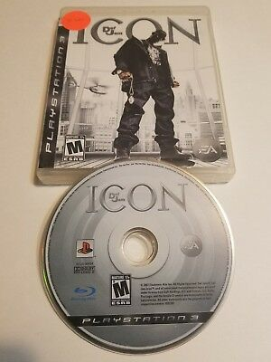 Def Jam: Icon PS3 Game (Sony PlayStation 3) No Manual Good Free and Fast Shipp