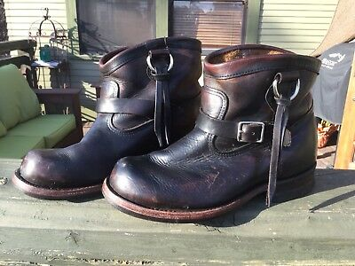 Hollywood Trading Company Engineer Motorcycle Western Boots Japan Cat's Paw