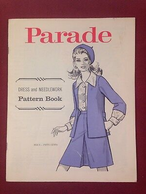 Parade Dress and Needlework Pattern Book Mail Order Vintage 1960s Clothes