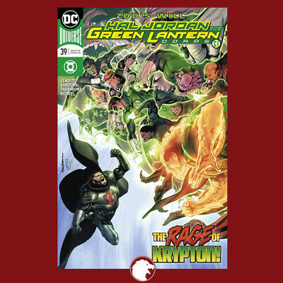 HAL JORDAN AND THE GREEN LANTERN CORPS #39 1st Print (WK09.18)