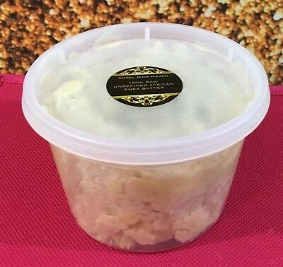 12 Oz Raw Unrefined African Shea Butter Pure White Natural Healing Skin Care