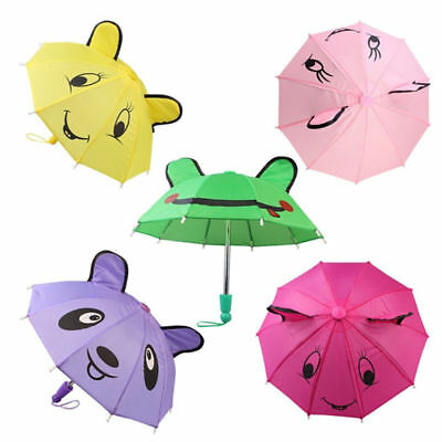 1PC New Kids Girls Lovely Ear Umbrella Doll with Clothes American Girl Clothes