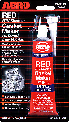 ABRO RTV Silicone Gasket Maker Red 85g
