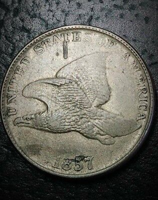~1857 Flying Eagle Cent ~