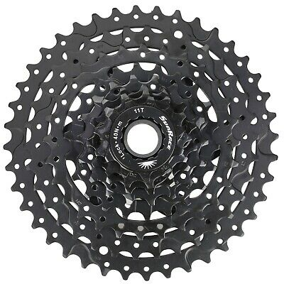 Sunrace M680 Shimano 8 Speed Bicycle Cassette Freewheel 11-40T Black