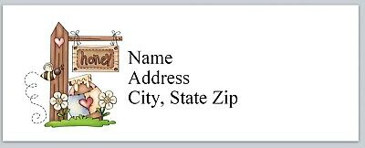 Personalized Address Labels Primitive Country bee Honey Buy 3 get 1 free (P 500)