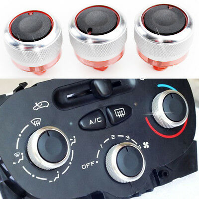 Heater AC Climate Control Switch Knobs Dials Buttons For Peugeot 206 207 C2