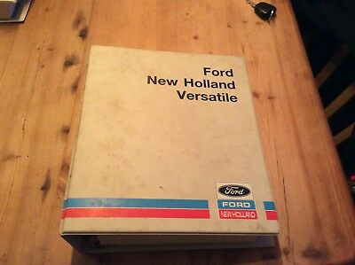 Ford New Holland tractor Dealer Repair manuals