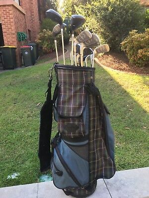 Golf Clubs (Tommy Armour) & Bag
