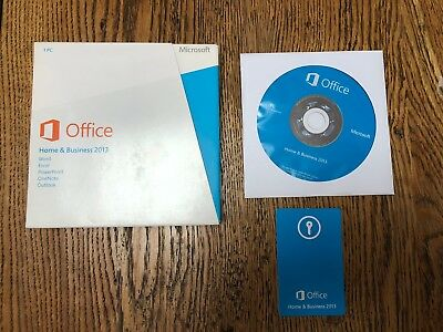 Microsoft Office 2013 Home & Business 2013 installation DVD