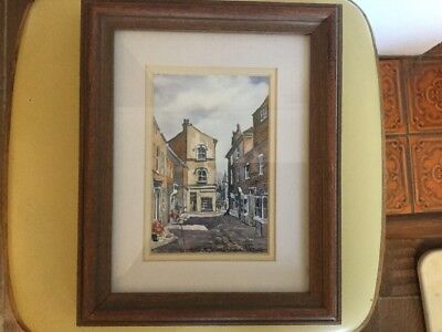 Framed Fine Art Watercolour Print by Artist Martin Goode Petworth Sussex