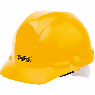 Draper Hard Hat Safety Helmet Yellow