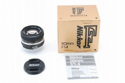 【MINT in Box】 Nikon Ai-s Nikkor 50mm f/1.4 Standard Lens from Japan