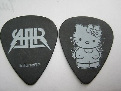 "All American Rejects Hello Kitty"" guitar pick"