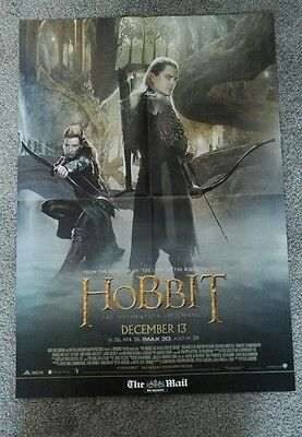 The Hobbit fold out poster Orlando Bloom