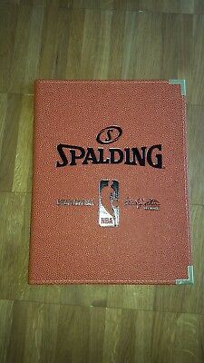 Spalding NBA Schreibmappe A4 Trainer Basketball