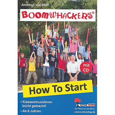 Lehrbuch Kohl Boomwhackers How to Start 1 Musik Buch NEU