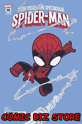 Peter Parker Spectacular Spider-Man #300 (2018) Skottie Young Baby Variant Cover
