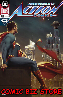 Action Comics #998 (2018) 1St Printing Variant Cover Superman Dc Rebirth