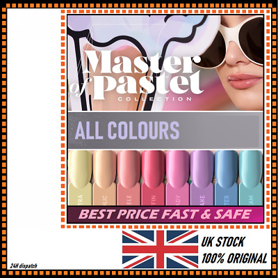 INDIGO NAILS LAB NEW Gel Polish 7ml UV Hybrid Soak Off Authorized Distributor UK
