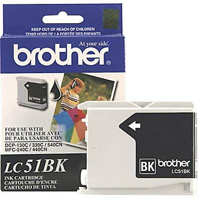 Brother International - LC51BK - Blk Ink MFC240c 440cn 665cw