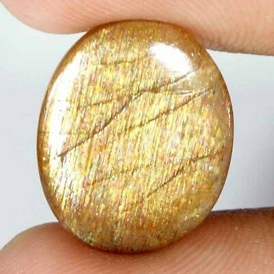 100% Natural Golden Sunstone Cabochon Loose Gemstone Oval, Pear, Cushion, Fancy