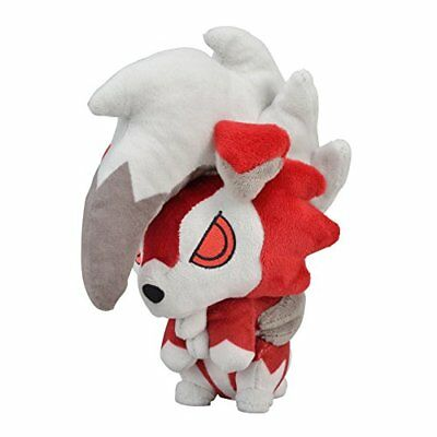 Pokemon Center Original Plush doll Lycanroc Midnight from Japan*