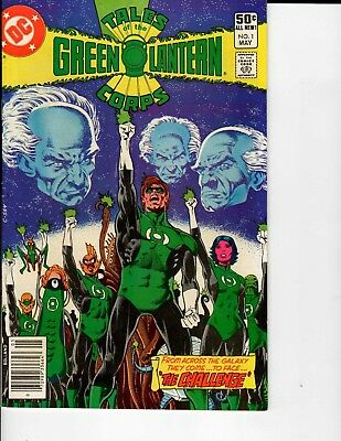 DC Comics Tales of the Green Lantern Corps #1 May 1981 VF/NM