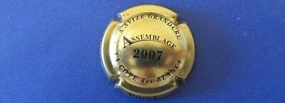capsule de champagne P.SCHLESSER n°9b assemblage 2007