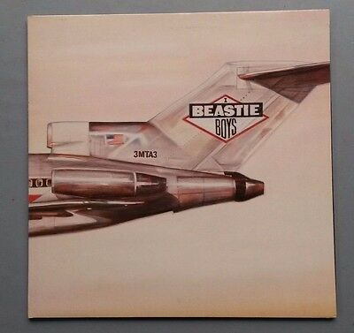 The Beastie Boys Licensed to Ill gatefold vinyl LP 1986