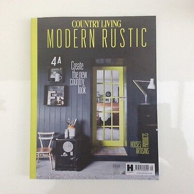 COUNTRY LIVING Modern Rustic issue no 9. new