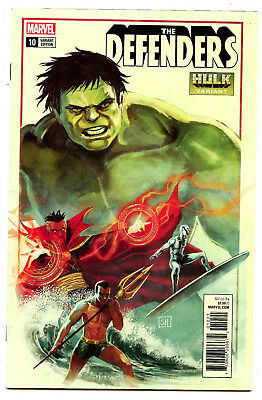 The Defenders #10 (2018) Marvel NM/NM- Marquez Hulk Variant