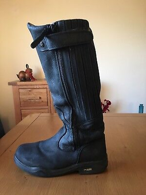 Kanyon Gorse X Rider Leather Horse Riding Boots - Size 6