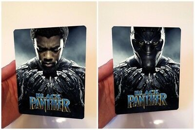 BLACK PANTHER Lenticular magnet cover with Flip effect for Steelbook