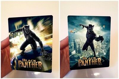 BLACK PANTHER Lenticular magnet cover with Flip effect for Steelbook v2