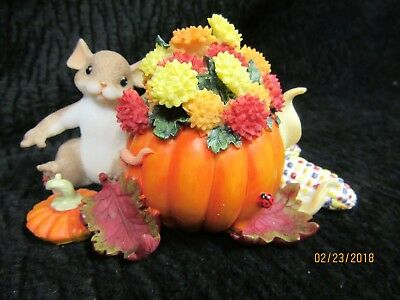 "Charming Tails Figurine 2006 ""Wishing You A Beautiful Autumn"" #85/527"