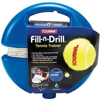 Tourna Fill Drill Tennis Trainer power base tennis trainer Aid Tennis Training
