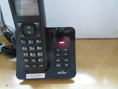 Binatone Luna 1220 Single Digital Cordless Telephone With Answer Machine